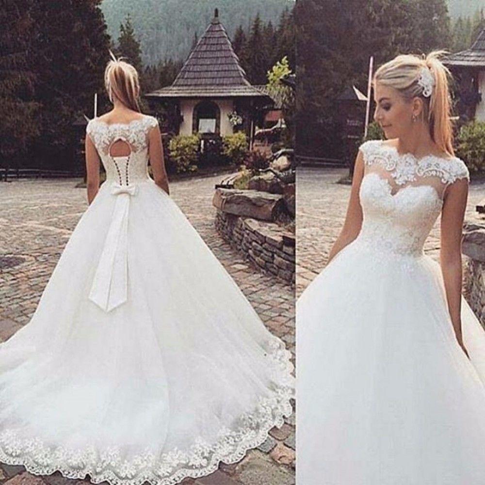 Mrs Win Backless Corta Del Manicotto Della Protezione Della Boemia Abiti da Sposa 2020 Più Il Formato su Misura Vestido De Noiva Abito da Sposa