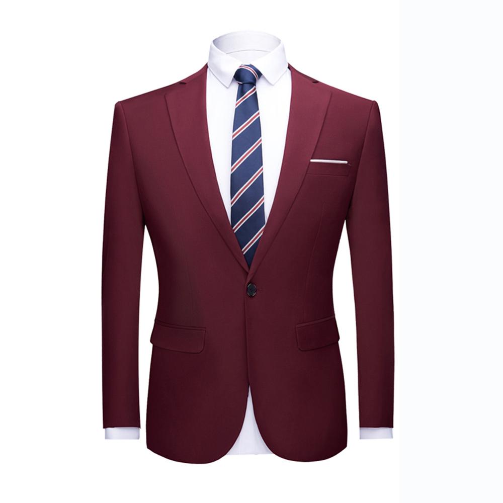 Il formato asiatico di Alta qualità abiti Da Ballo giacca Shinny 16 colori Colletto A Contrasto Vestito Da Pranzo Del Vestito della Giacca Sportiva Homme Slim Fit Cappotto Del Vestito giacca