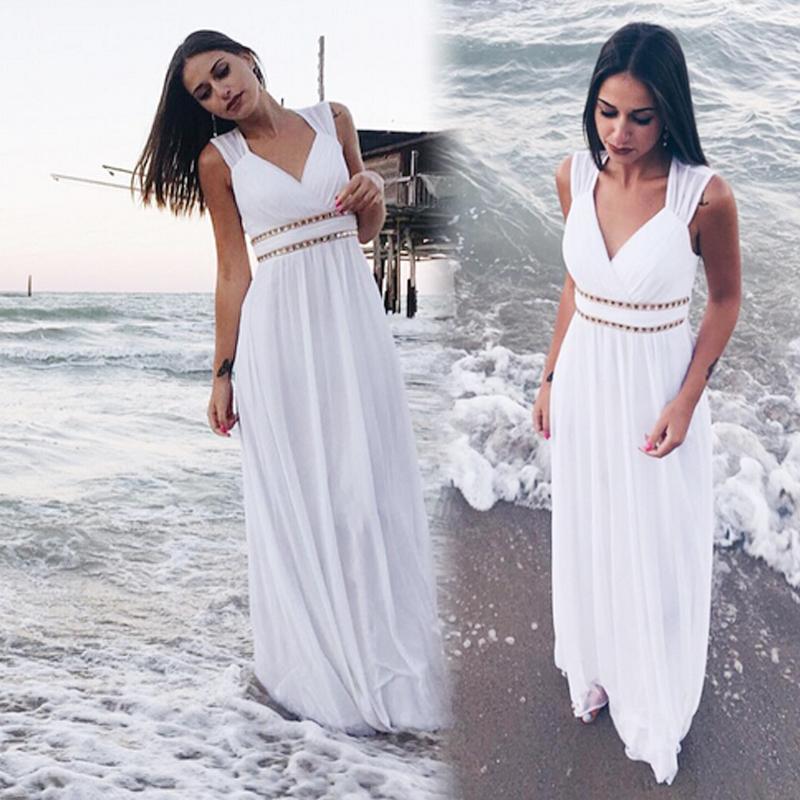 Mai Abbastanza Spiaggia Abiti Da Sposa 2019 Nuovo A-Line Del Merletto Che Borda Chiffon Plus Size abito Da Sposa Abiti Da Sposa Sotto I 50 Vestido De noiva