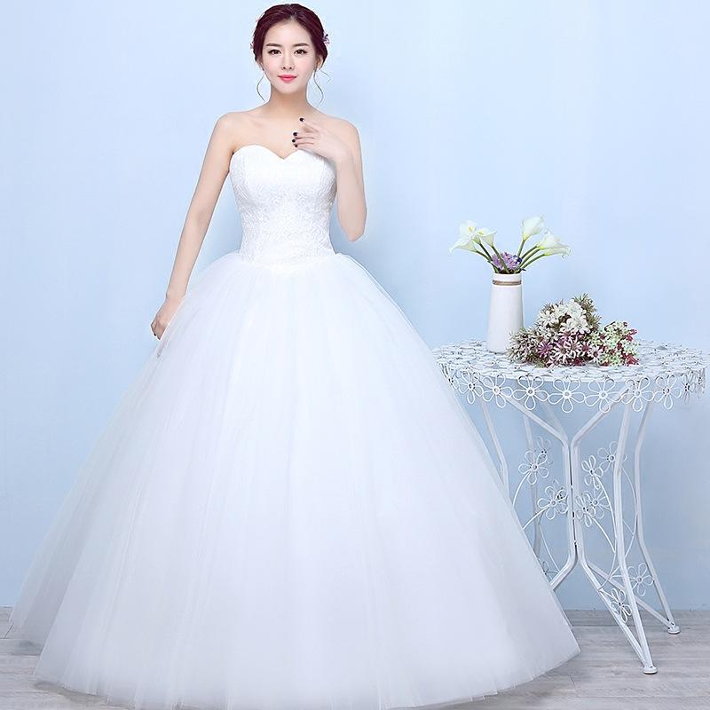 Gryffon Abito Da Sposa Sexy Senza Spalline Lace Up Abito di Sfera Più Il Formato Da Sposa In Pizzo Dresse Vestido De Noiva Abito Da Sposa