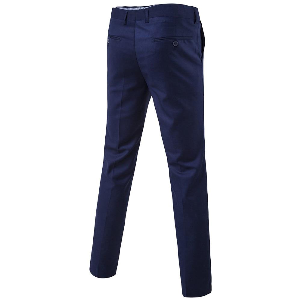 3 pezzi di Uomini D'affari Giacca + Vest + Pants Set Abbigliamento Mens Ufficio di Lavoro Solido Formale Sottile Da Sposa Vintage Set Classico giacche