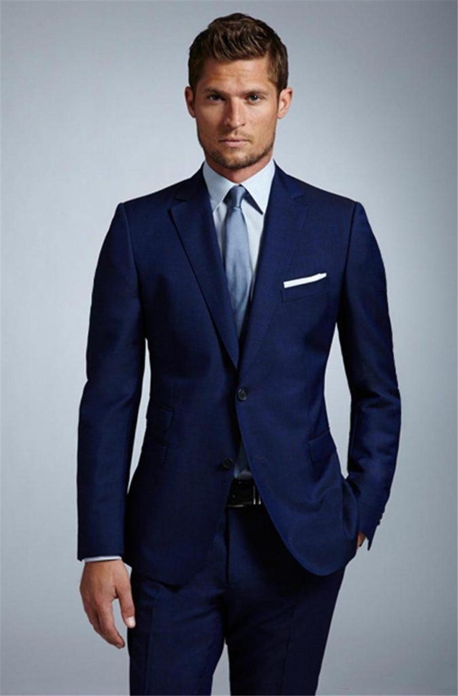 Classy Sposi Smoking Slim Equipaggiata Personalizzato Personal Abiti Da Sposa Groomsmen Vestito A Due Pezzi di Promenade Abiti Formali (Jacket + Pant)
