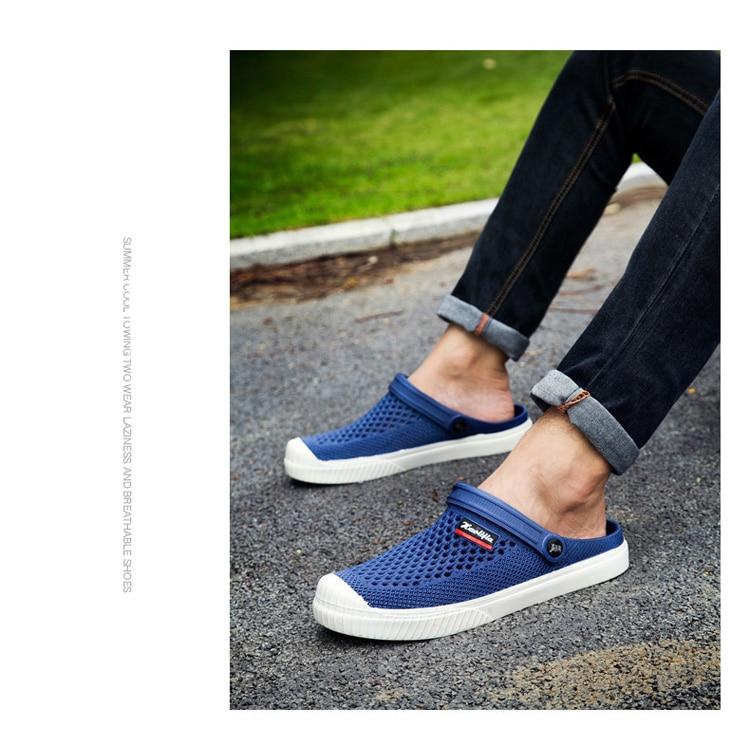 Sapato Feminino 2020 di Marca Duty-free Amante Zoccoli 6 Colori Croc Scarpe Da Uomo Sandali Banda Della Spiaggia di Estate di Nuoto Acqua mens Scarpa